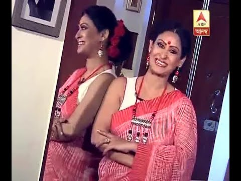 Watch: Special Durga Pujo Outfit of Actress Indrani Haldar