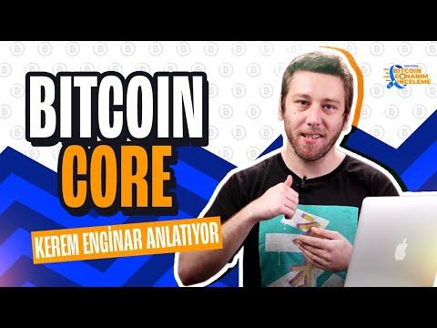 Kerem Enginar Donanım İnceleme - Bitcoin Core Yazılım Cüzdanı İlk Kurulum Ve Transfer İşlemleri