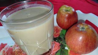 How to make a perfect Apple shake||Apple shake recipe||Home made Apple shake recipe||Street style||