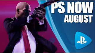 PlayStation Now - New Games August 2020