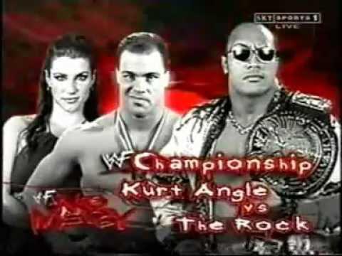 Resultado de imagem para kurt angle vs the rock no mercy