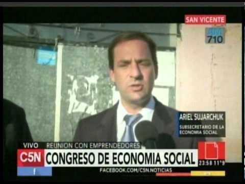 C5N - Sociedad: Congreso de Economia Social