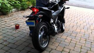 2011 Honda CBR250R Stock Exhaust Versus Yoshimura Slip-On Exhaust