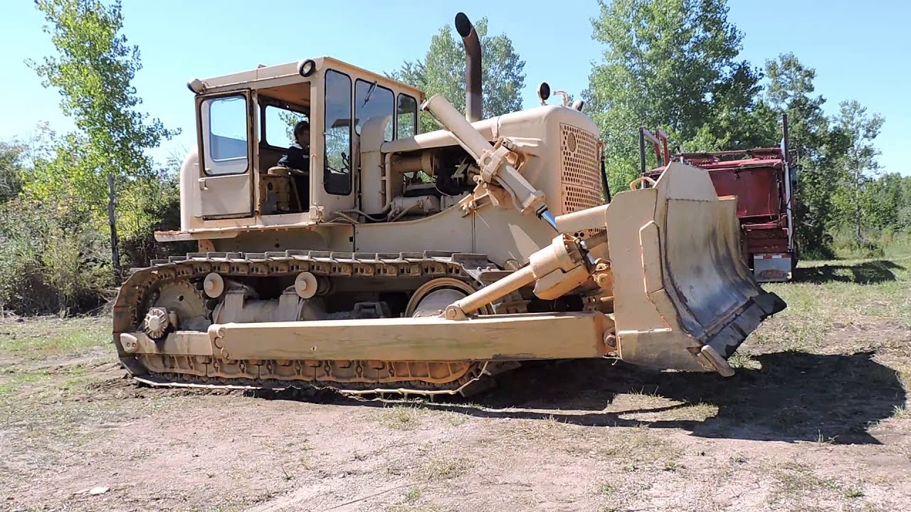 Orbitbid com - MICHIGAN: Living Estate Aberdeen Howard 9/23/14 -  Allis-Chalmers bulldozer