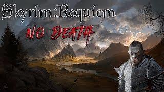 Skyrim - Requiem (без смертей, макс сложность) Орк-Барин  #7 В поисках опыта