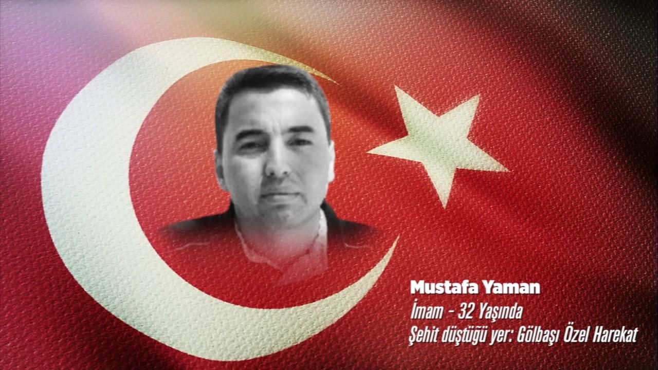 15 Temmuz Şehidi Mustafa Yaman