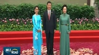 Chinese President Xi Jinping Welcomes World Leaders And Dignitaries To THE PEOPLE'S GREAT HALL