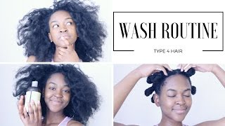 My 4C Hair WASH DAY Routine