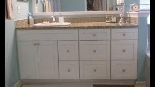 White Bathroom Vanity Cabinet,