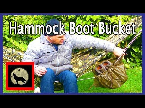 DIY Hammock Boot Bucket Prototyping - like a gear sling but not