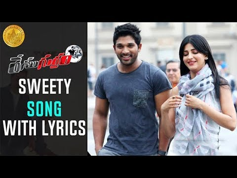 Sweety Song with Lyrics | Race Gurram Promotional Full Songs HD | Allu Arjun | Shruti Haasan