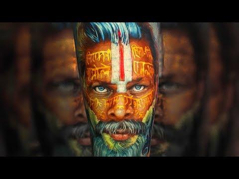 Incredible Photorealistic Portraits Tattoos by Aleksandr O'kharin