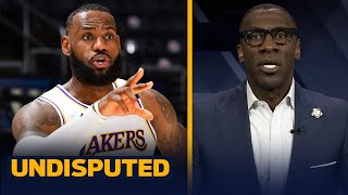 LeBron James sat out because he won't miss the Finals banner unveiling - Shannon | NBA | UNDISPUTED