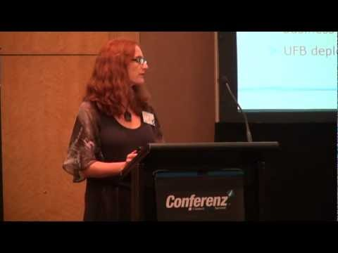 Tonia Haskell: Advancing the Ultra Fast Broadband network in urban Auckland