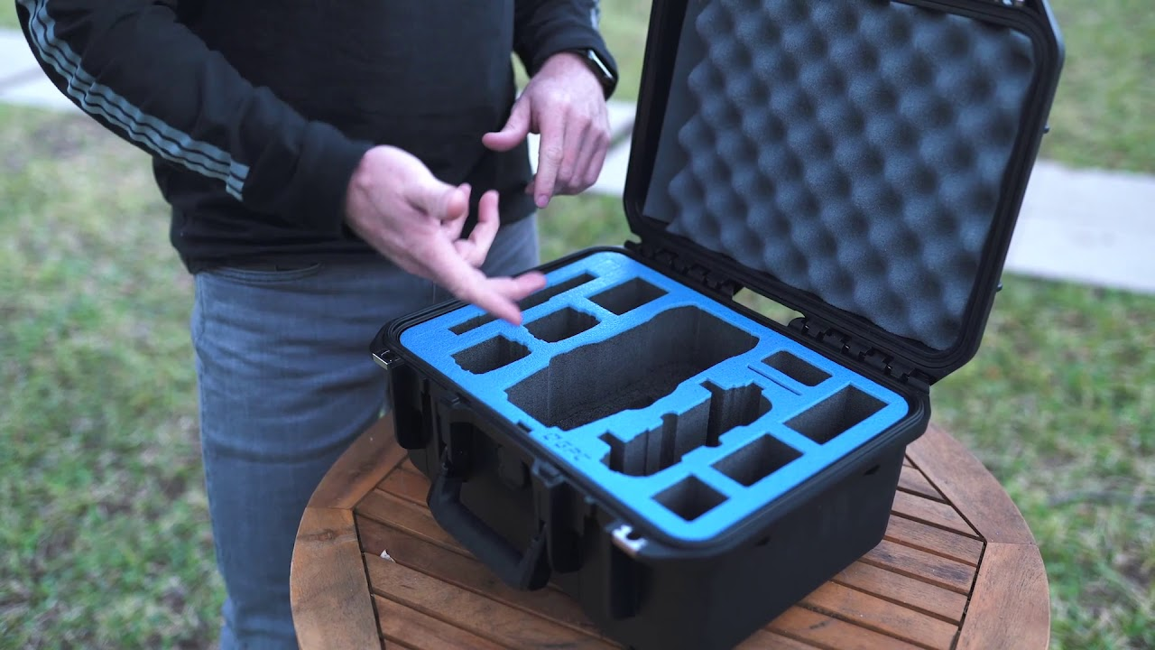 CrystalSky Monitor and Accessories Go Professional Cases Hard Case for DJI Mavic 2 Pro//Zoom Drone