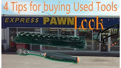 4 Quick Tips for Buying Used Tools at the Pawn Shop - SnapOn Tool Score Today!
