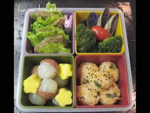 bento lunch box ideas c 2012 rey ty youtube. Black Bedroom Furniture Sets. Home Design Ideas