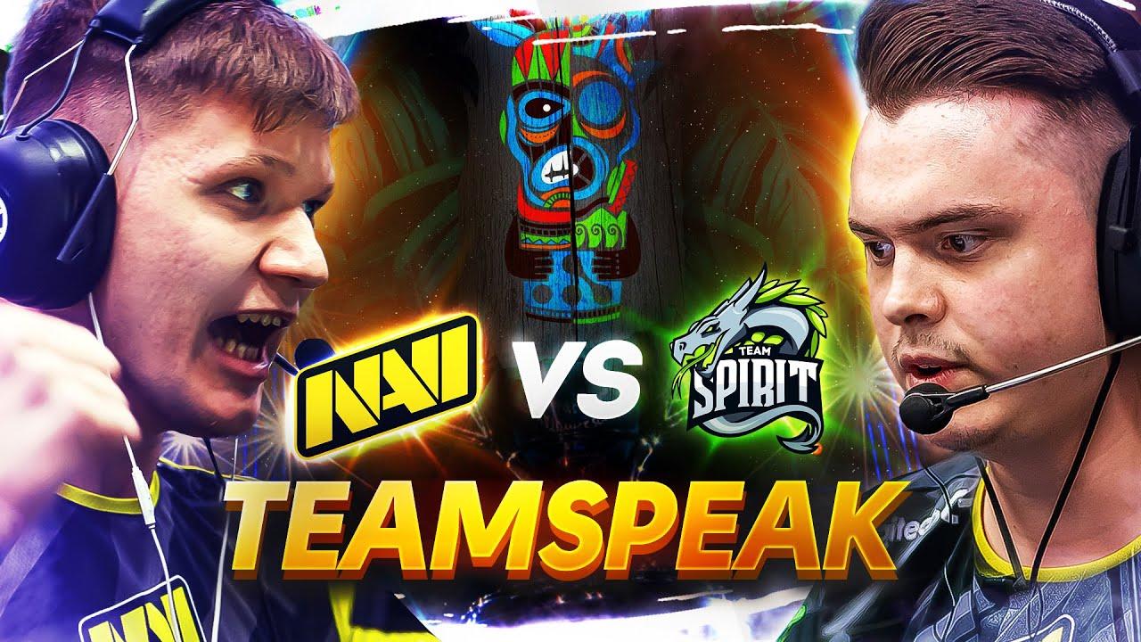 ТИМСПИК NAVI vs Spirit на WePlay! Clutch Island