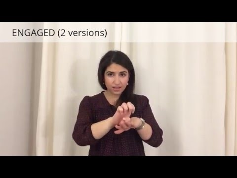 Learn ASL: Different types/stages of relationships in sign language