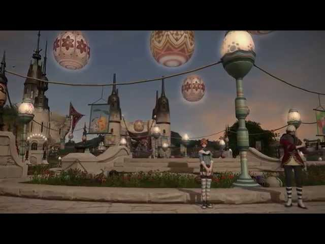 FFXIV Exploring Eorzea: Hatching Tide 04/20/14 Full Easter Theme Song