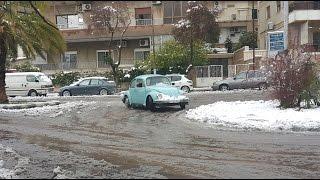 VW Beetle 1303 Drifting on snow