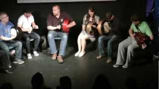 Craiceann 2012   Recital by Tutors - Tune 1 - Bodhran Festival 2012, Inisheer, Ireland   HD