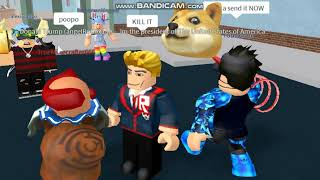 Roblox - PLAYING AS DONALD TRUMP!!! :3
