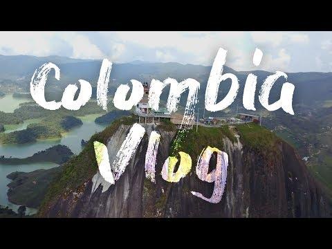 Colombia Medellin Vlog - FIRST VLOG!!!