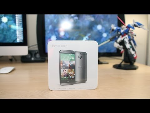 NEW HTC One M8 Unboxing and Overview