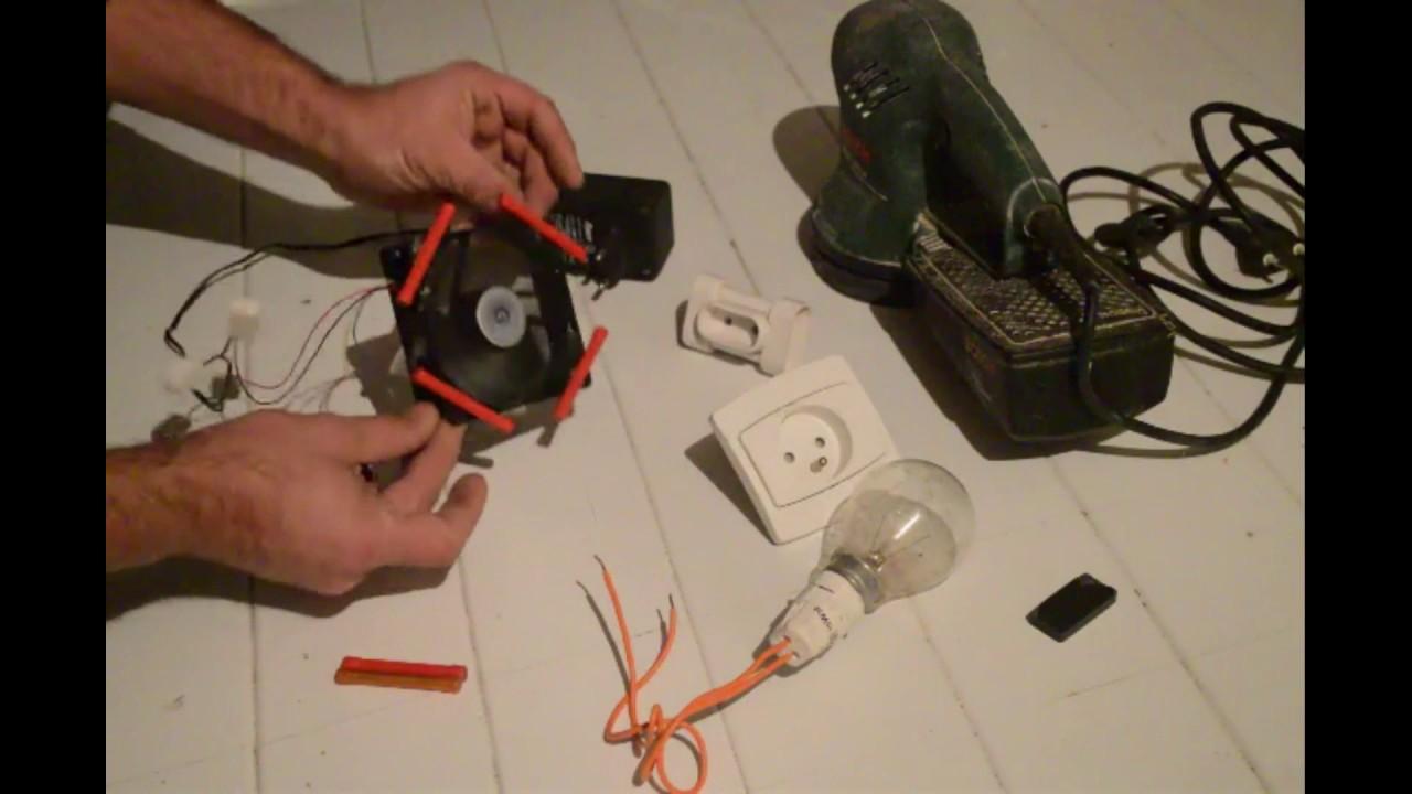 electricit gratuite via un ventilateur d 39 ordinateur youtube. Black Bedroom Furniture Sets. Home Design Ideas