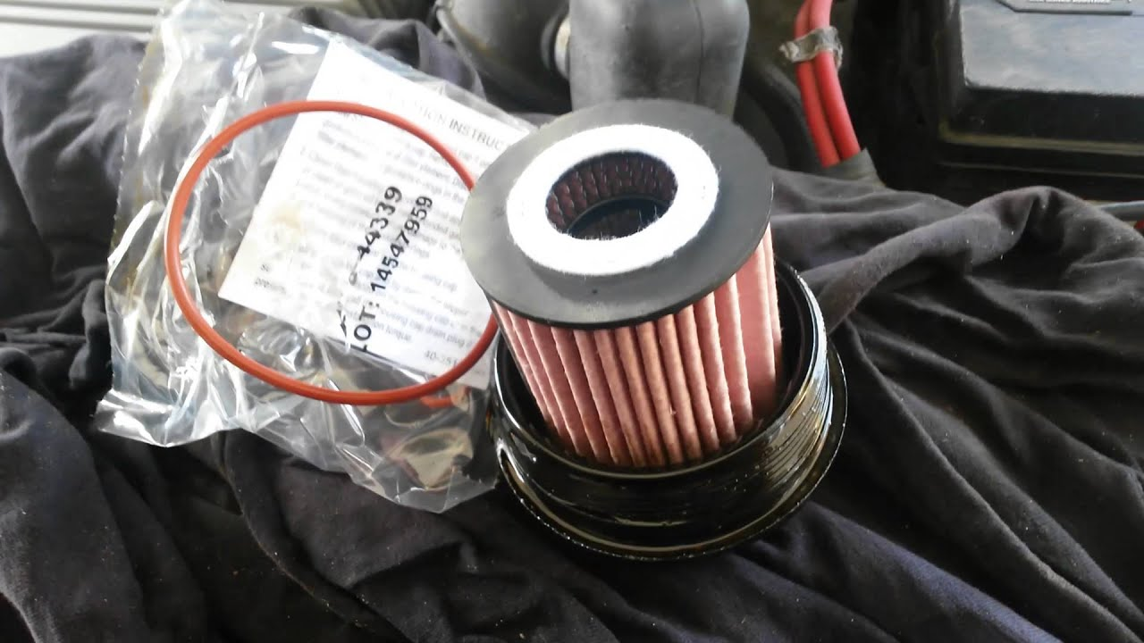 How To Change Oil Filter Ford Escape Hybrid Special Wrench