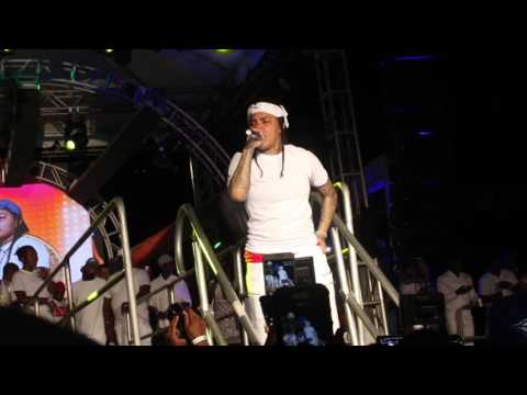 Young MA Performs Ooouuu In Jamaica @...