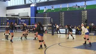 LHS Girls Volleyball vs Methuen 2018