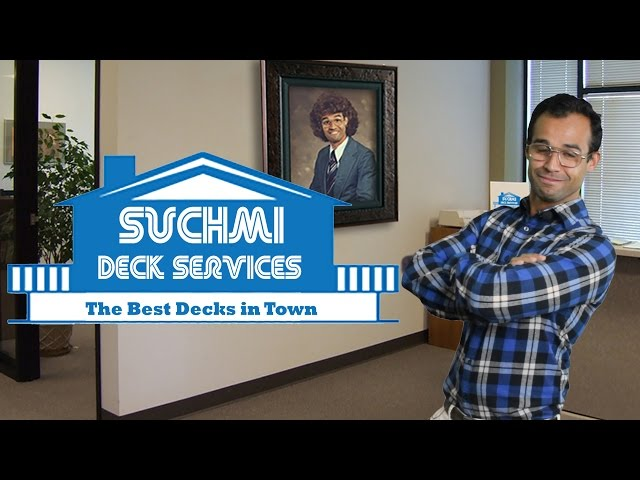 Funny Deck Commercial: Suchmi Deck Services
