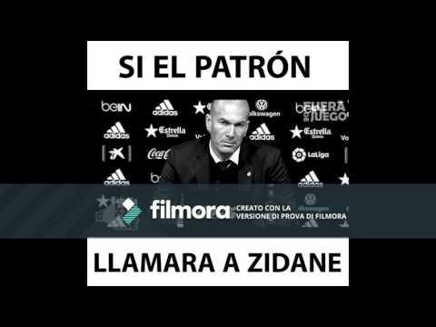 Si Pablo Escobar Llamara a Zidane