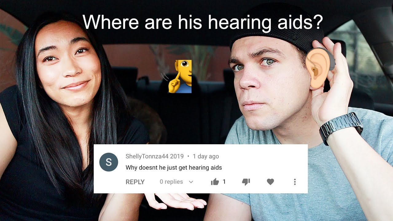 Why My Deaf Boyfriend Doesn't Wear HEARING AIDS