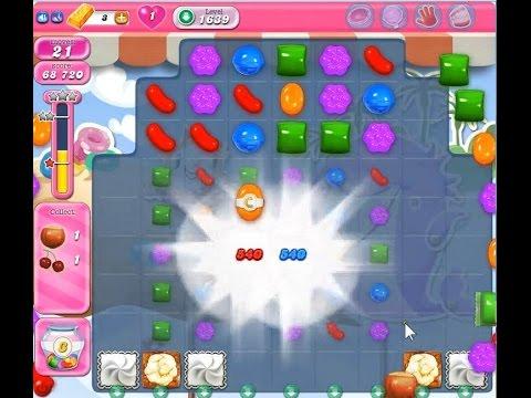 Candy Crush Saga Level 1639【10 moves】★★★ NO BOOSTER