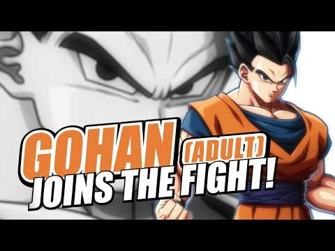 Dragon Ball FighterZ: Gohan (Adult) | Character Trailer