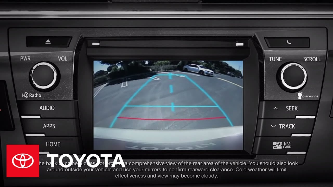 2014 Corolla How To Backup Camera Toyota Youtube
