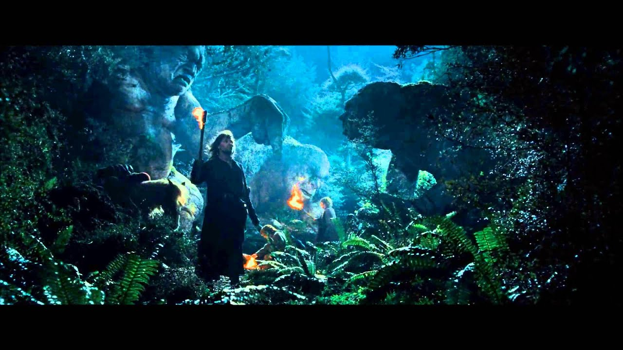 Stone Trolls In Lord Of The Rings