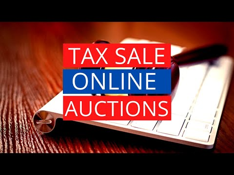 Online Auctions: The Future of TAX LIENS & TAX DEEDS