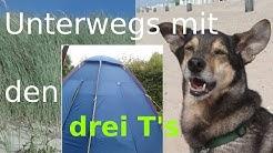 Hund in Zeeland - Domburg - Mittelburg - Strand [mit den drei T`s unterwegs ](Tag 1-2)
