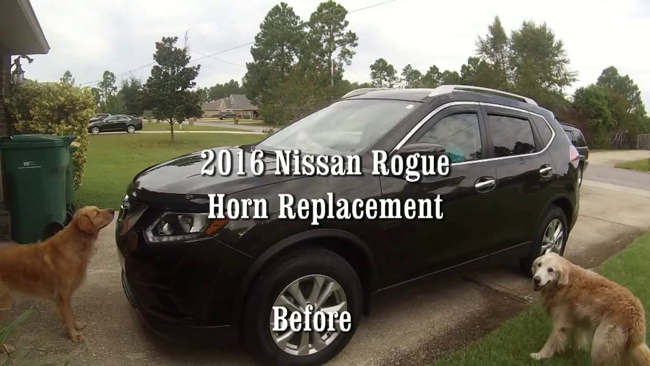 Nissan rogue 2016 horn replace youtube asfbconference2016 Gallery