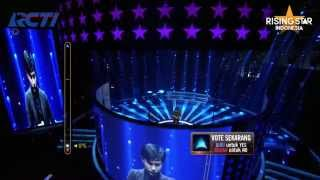 """Gery Lineker """"I Don't Want To Miss A Thing"""" Aerosmith - Rising Star Indonesia Eps Live Audition 5"""
