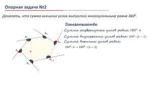 Урок 02. Многоугольник. Опорные задачи