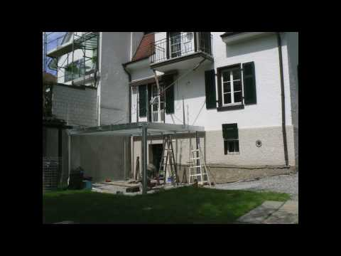 terrasse aufbau youtube. Black Bedroom Furniture Sets. Home Design Ideas