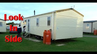 Bude Cornwall Beach Holiday Resorts Mobile Home / Caravan Look Inside, England UK 2019