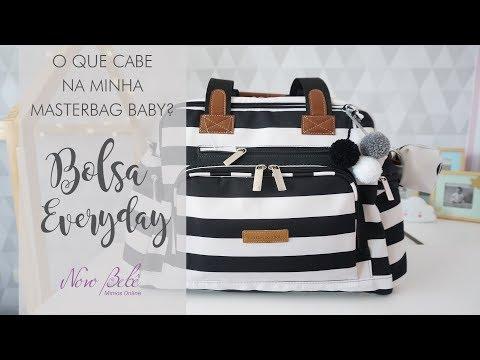 O Que Cabe Na Minha Masterbag Baby? Bolsa Everyday