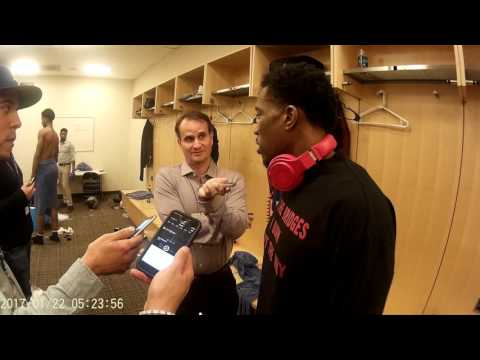 Eric bledsoe post game interview