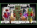 Minecraft - THE ATUM DIMENSION MOD (LEARN ABOUT THE SECRET WEAPONS OF THE PHARAOHS) PT1